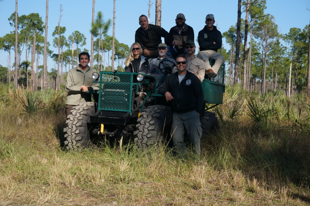 UGA team and Dragonfly Avitaion deer study south florida
